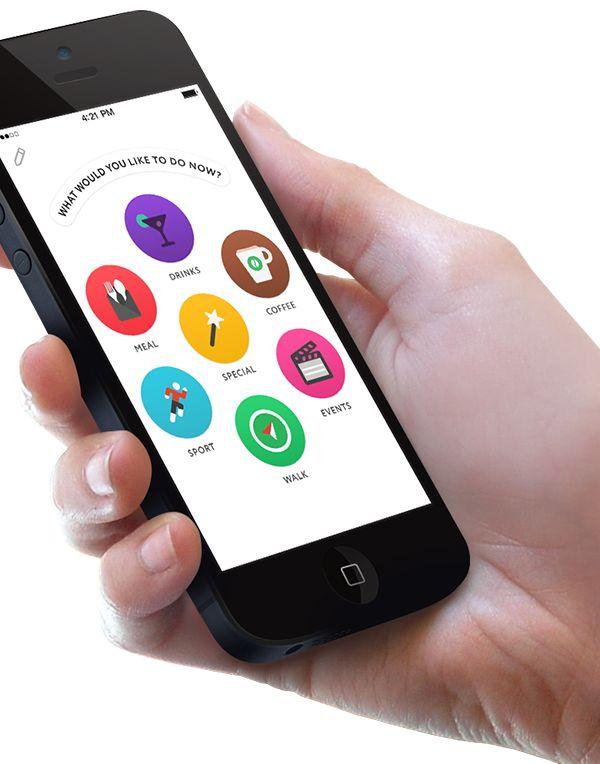 Yep! Social Meetup App | Icons & Flat Mobile App UI Design
