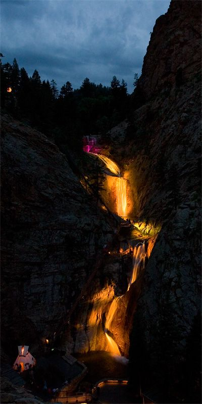 Seven Falls, Cheyenne Mountain, Colorado Springs, CO Copyright: Hubert Weldon