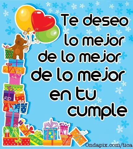 Feliz cumpleaños tia Zulma que la pases lindo.......y que vengan mucho mass!!! D.T.B