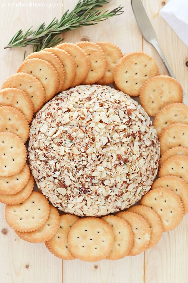 Easy Cheese Ball | Recipe | Easy Cheese, Cheese Ball and Cheese