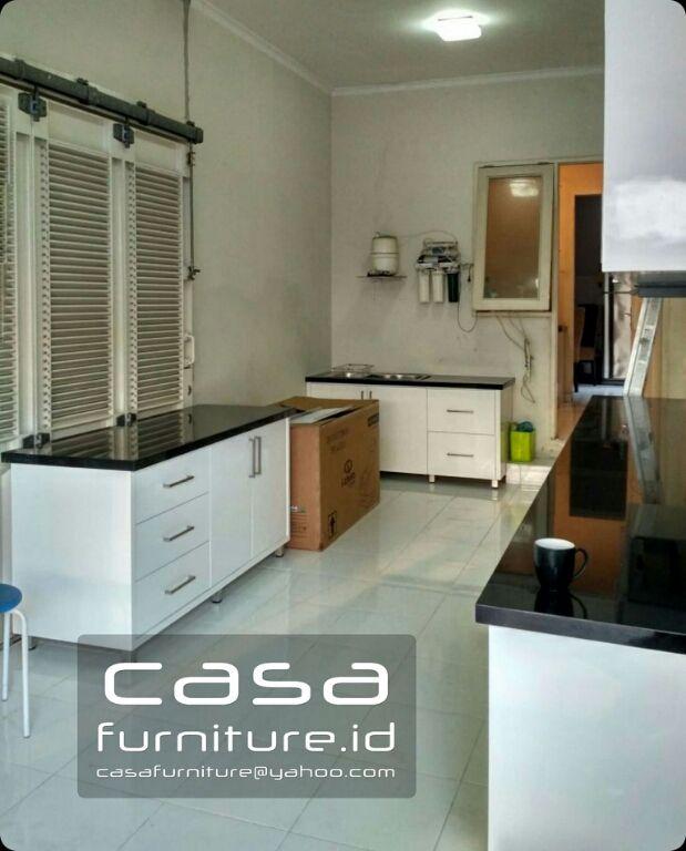 kitchen furniture images. Kitchen Set Duco Putih Cluster Jade Pondok Hijau Golf, Gading Serpong Tangerang, Jasa Furniture Images