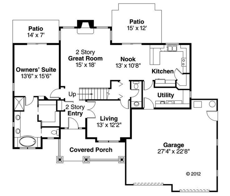 Pump House Plans 108 best house plans images on pinterest | square feet, floor