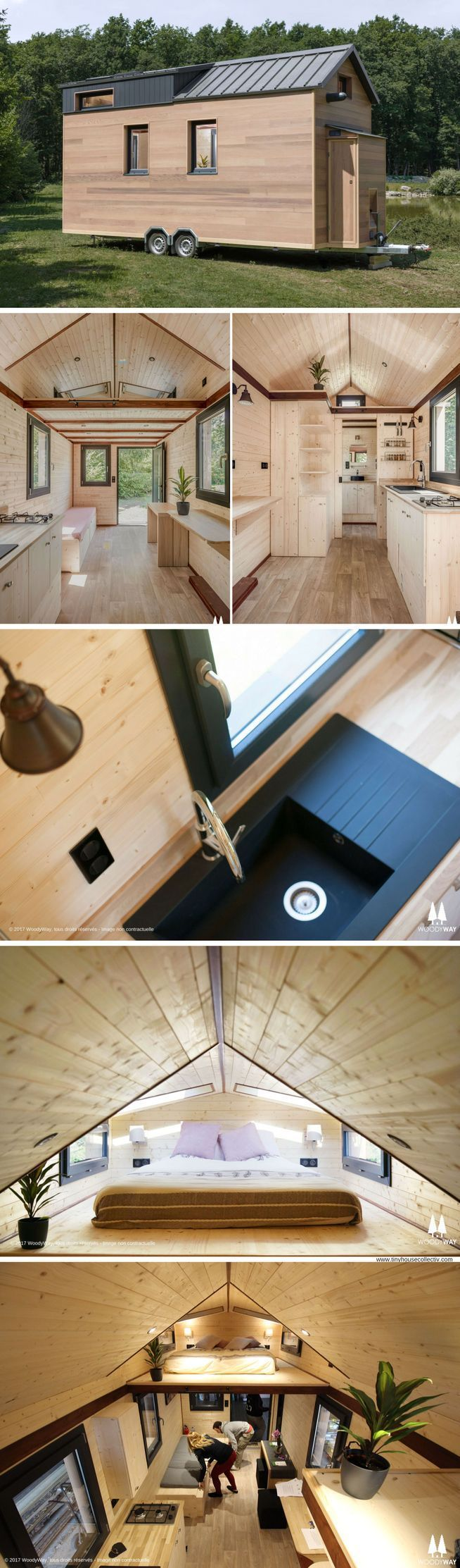 The Cottage By Woody Way Tiny House On Wheels Cottage Woody #instandhaltungsarbe…  #Instandhaltungsarbeiten