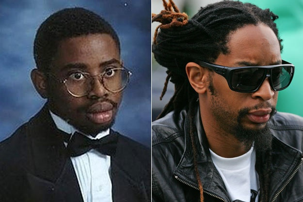 Lil Jon S Yearbook Picture Pop Star Yearbook Pictures
