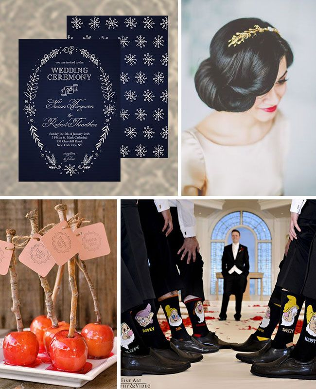 wedding inspiration snow white wedding inspiration board