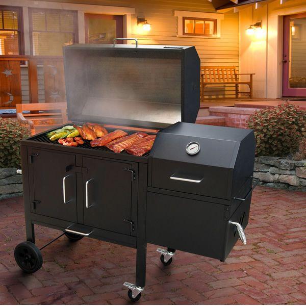 Black Dog Charcoal BBQ Grill & Smoker | WoodlandDirect.com: Outdoor BBQ Grills, Islands & Kitchens, Charcoal BBQ Grills, Islands & Kitchens, BBQ Grilling