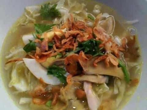 Resep Soto ayam favorit. Salah satu menu favoritku..resepnya turun temurun dr ibu tercinta..selamat menikmati..;)