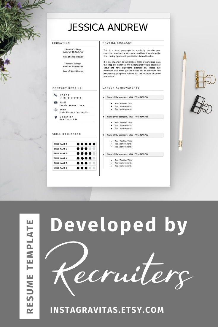 Minimalist Resume Simple Resume Minimalist Cv Simple Cv