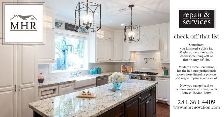 MHR Announces New Repair Services Category Modern Home Renovation In Kingwood Texas 77339