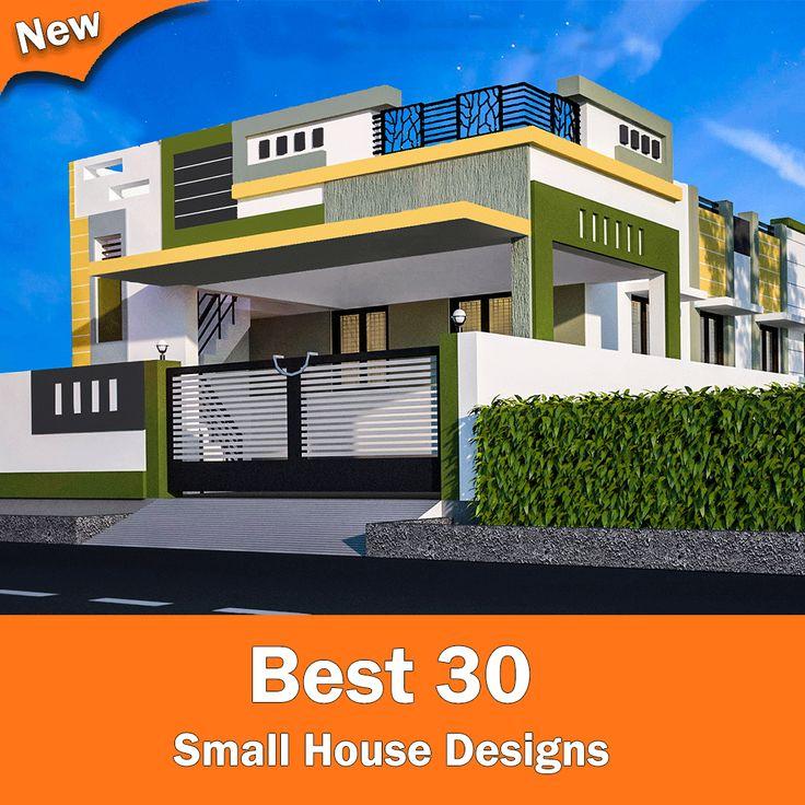 Smallhouse Exterior Ideas: Small House Elevation Designs