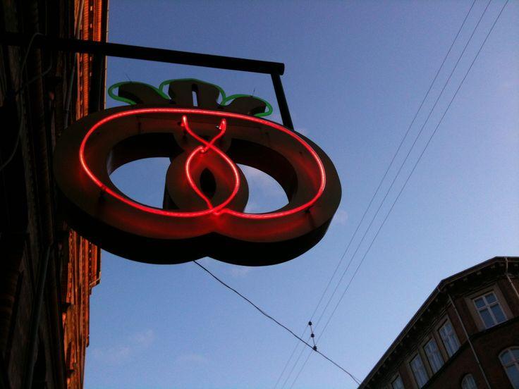 Bakery sign, Copenhagen, by Tina Bardenfleth