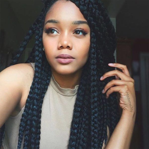 23 Gorgeous Ways To Wear Box Braids Hairstyles Hair
