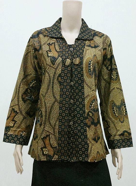 Koleksi Baju Batik Ukuran Jumbo Big SIze Untuk Wanta Gemuk