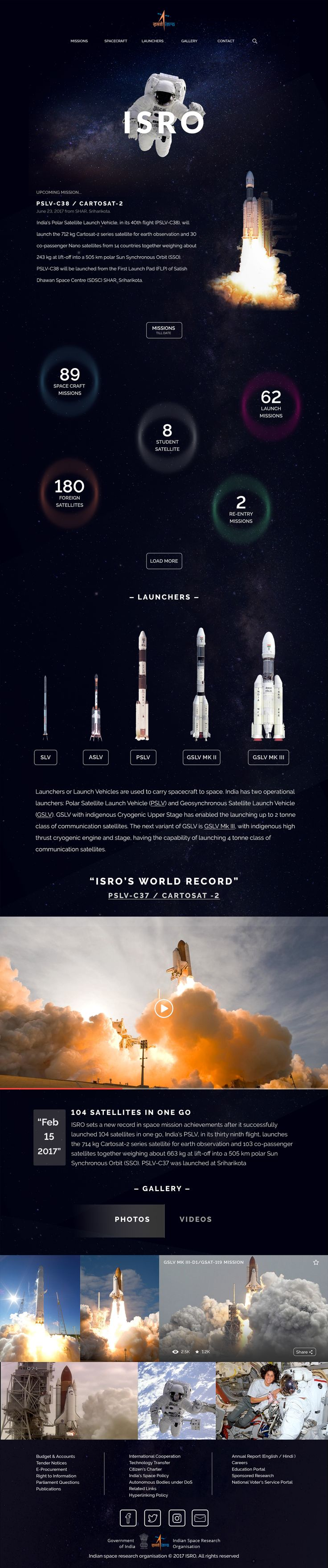 ISRO-Indian Space Research Organisation | Re-design