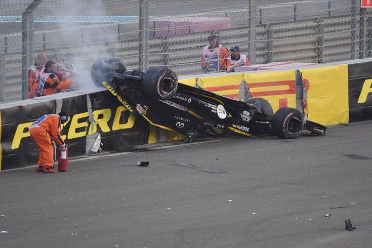 Nico Hülkenberg rollt über, Gehirnerschütterung ohne Verletzung / F1 Abu Dhabi GP – F1-Gate.com