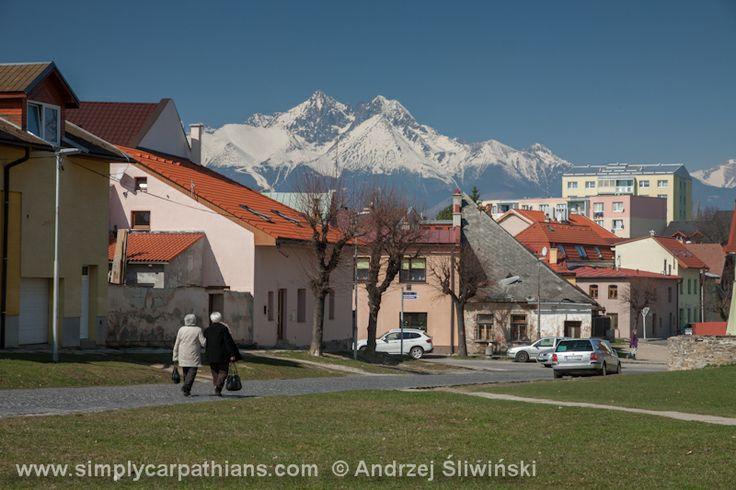 Quiet streets of Kežmarok #Slovakia www.simplycarpathians.com