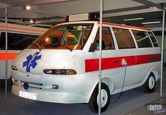 RAF STILS Ambulance