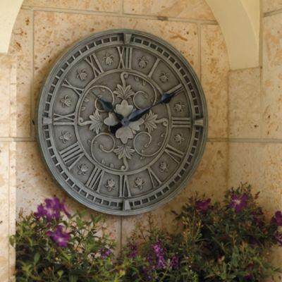 Lacey Garden Clock