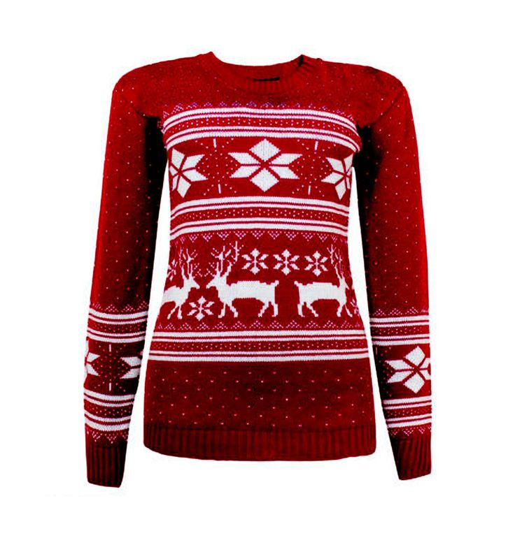 13 best Women's Christmas Jumpers images on Pinterest | Party ...