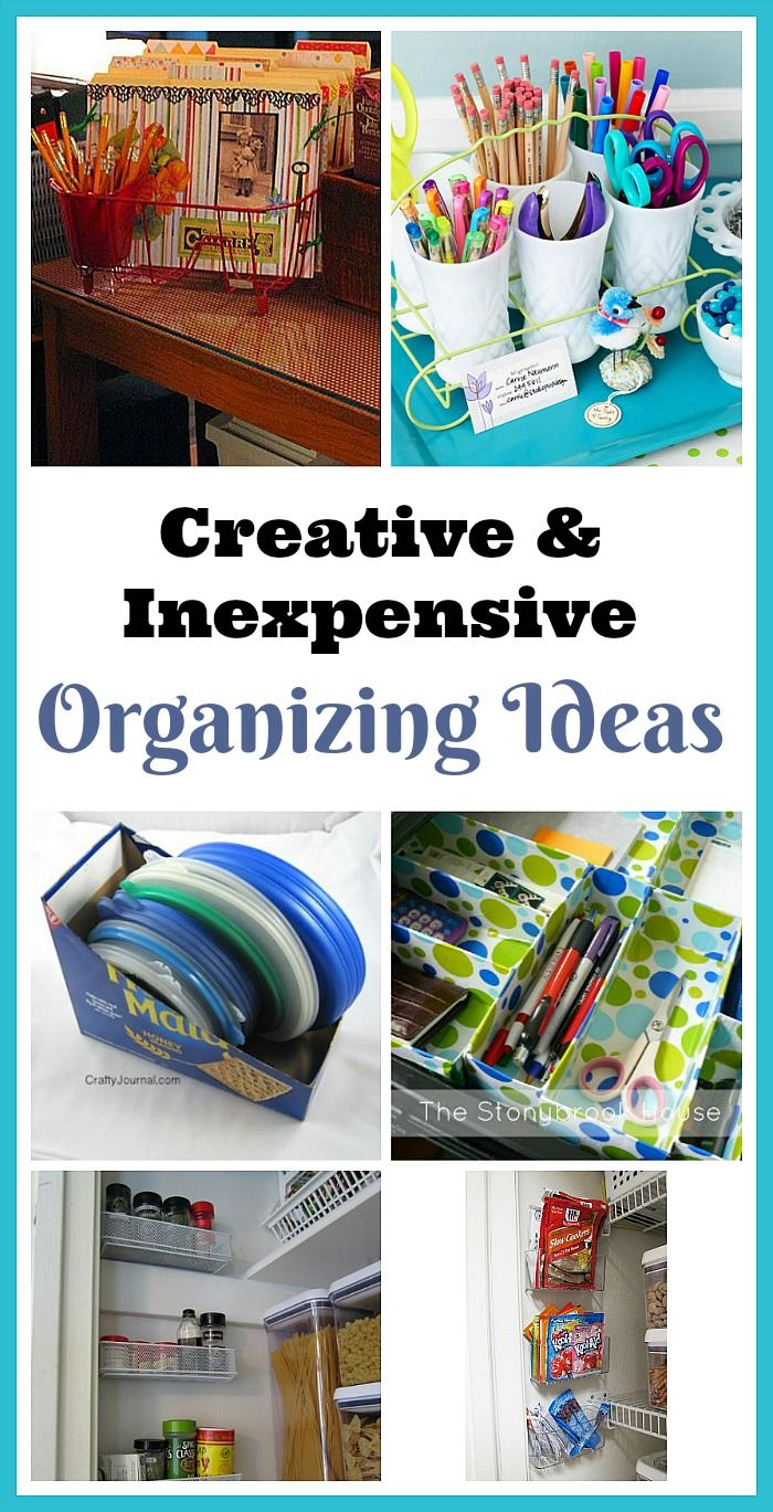 9755 best a organized nest images on pinterest for Creative organization