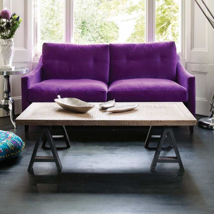 17 best images about purple and green livingroom on for Purple coffee table