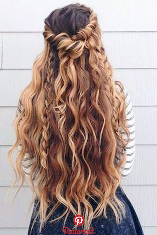 48 Blonde Hairstyle Ideas for This Year   So you have to think about the length and volume of the hairstyle concerning the dress. The skirt will devel…