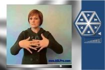 ASL Pro website. It teaches you ASL signs. There are many dictionaries to it. They include a main dictionary and a religious dictionary. GREAT resource.