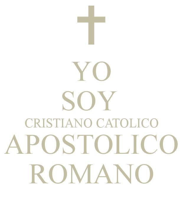 Catolico Soy Mt 16;18