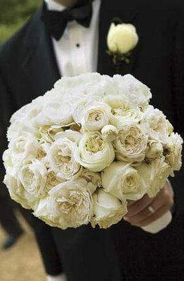 White Garden Rose Bouquet 54 best flowers images on pinterest | bouquet wedding, bridal
