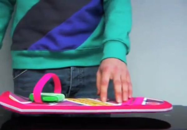 Functional Prototype of Marty McFly's Hoverboard