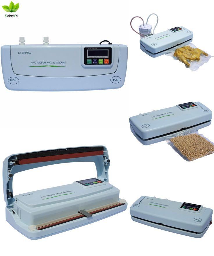 [Visit to Buy] Full automatic vacuum packaging small household vacuum sealing machine tea packaging machine food vacuum packaging machine #Advertisement