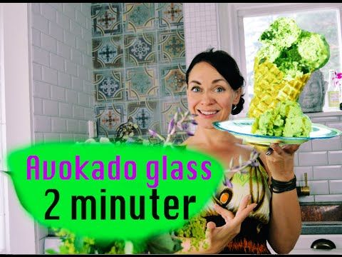 Avokado Glass /Raw Vegan Plantbased Avocado ice cream