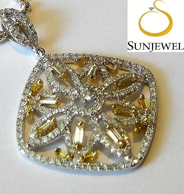 SUN05341-0 Pendant Round by Sunjewel Elite  Diamond 1.14 Carat (194pcs) Baguette 0.28 Carat (8pcs) Gold 6.22 Grams 18-Karat Twotoned  We offer 12 mos. 0% Interest on major Credit Cards, and up to 18 mos. 0% Interest on your BPI Cards  Contact Sunjewel Team for discounts/promos & further inquiries Mobile/Viber: 0915.3098288 / 0917.8036244 / 0915.6085158 Tel: 910.3407