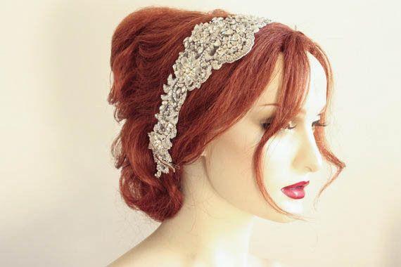 Bridal headpiece - Viola | MillieIcaro