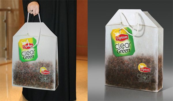 Lipton - Unconventional Marketing - Module 4 - Small and Big #befoodbocconimooc #communication #shoppingbag #drink #food #foodandbeverage #betabocconi