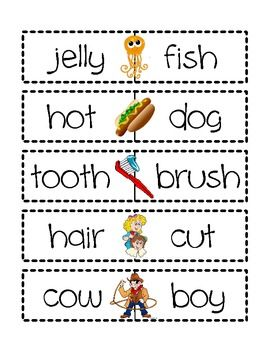 Compound Words Literacy Centres