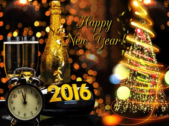 Animated Happy New Year Greetings Download