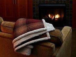 "50""x60"" Plaid Cottage Throw Blanket"