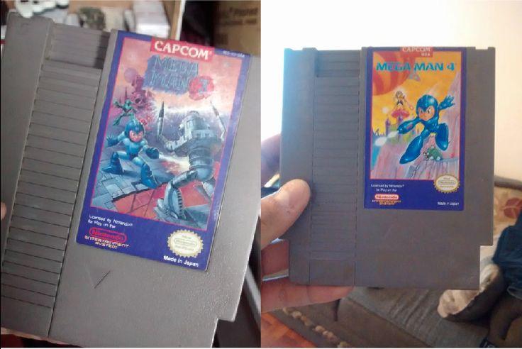 Uno de los amigos de mi novia es un gran fan y coleccionista de #Megaman y de su corazón me regalo una de dos copias extra que tiene de Megaman 4…una semana después el jefe de mi novia me regala una copia de MegaMan 3.  Espero esta semana me caiga otro regalito :D    -Carlos