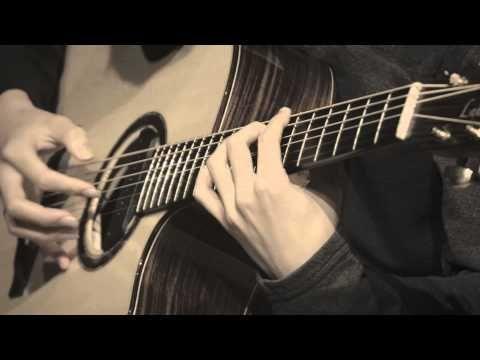 (Original) Flaming - Sungha Jung (Baritone Guitar) - YouTube