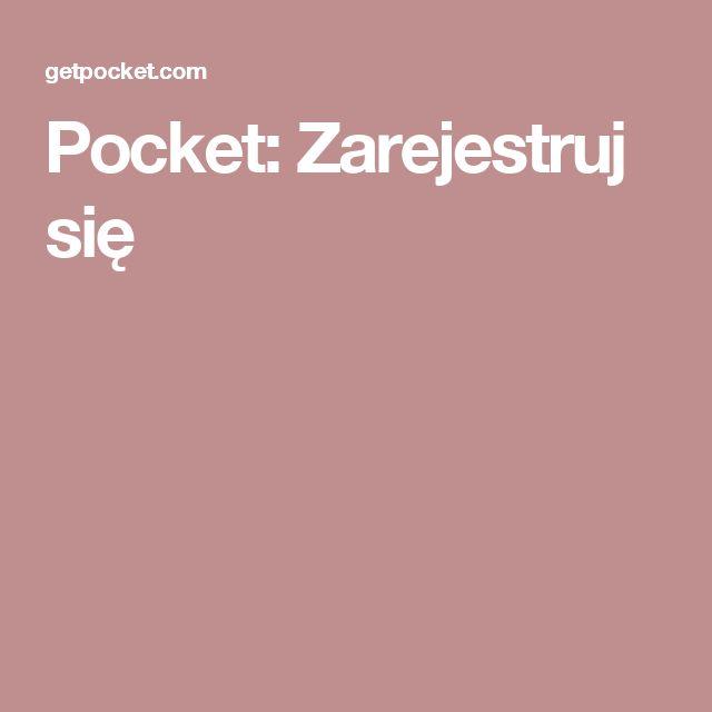 Pocket: Zarejestruj się