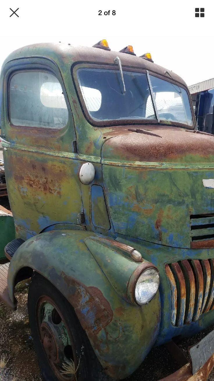1946 chevy cab over truck