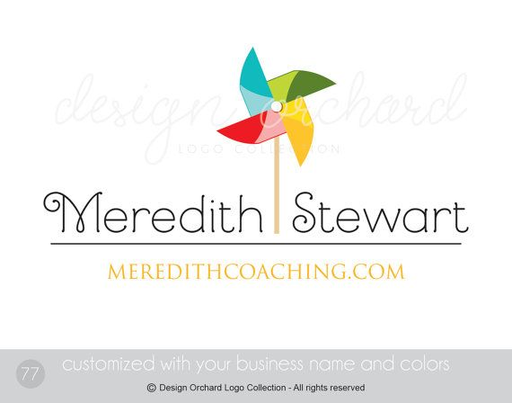 Coaching Logo Business Coach and Consultant Logo by DesignOrchard