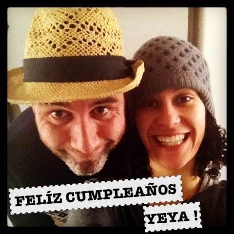 Verito y Sebastián en celebración virtual del cumpleaños de Mayeya