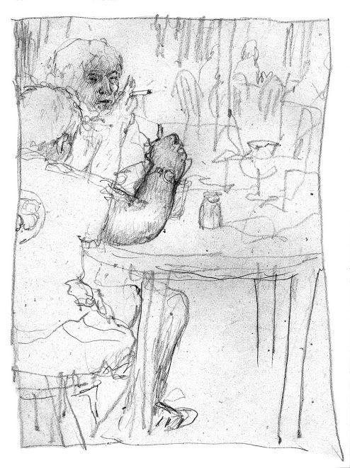 Nicolas de Crécy - dessin