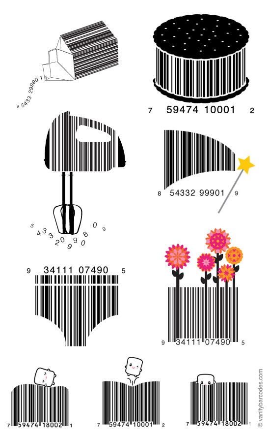 Vanity Barcodes