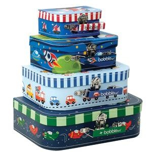 HOW CUTE ARE THESE!! Transport Suitcase Set