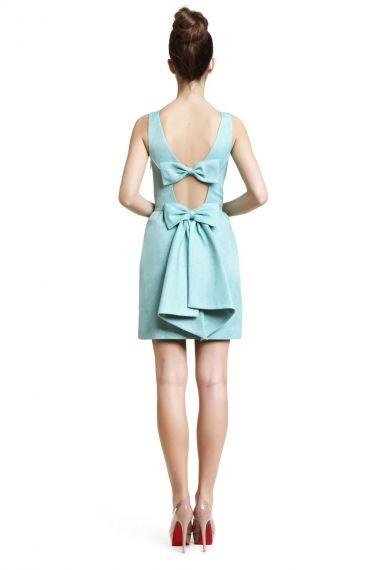Erin Fetherston - Bow Back Dress - Bridesmaid - The Wedding Shop