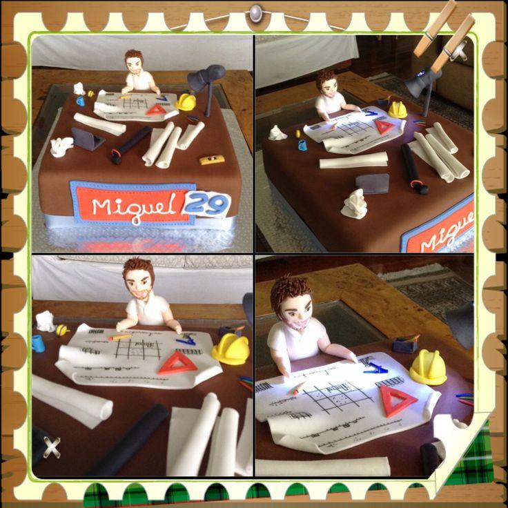 Architect cake by facebook.com/latortadesu