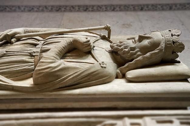 The tomb of Clovis I, first king of the Franks, at the Basilica of St.Denis